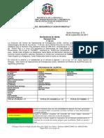 Boletín con Declaratoria de Alerta Huracán Irma-Miércoles 6 de septiembre-11:00 de la mañana