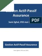 Gestion Actif Passif Assurance