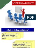 Clase 6 Capacitacion en La Empresa