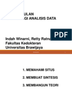Pengumpulan Dan Strategi Analisis Data