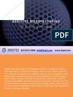 Additive Manufacturing Service|3D Rapid Prototyping