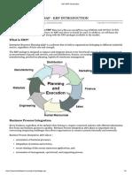 SAP ERP Introduction