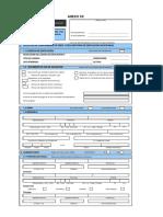 XX - FUE - Conformidad de Obra y Declaratoria de Edificación Anticipadas