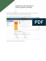 Removendo a Função de Active Directory e Despromovendo o Domain