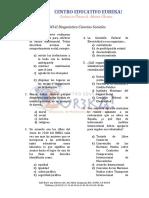 EXANI-II Diagnóstico Ciencias sociales