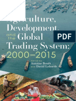 Agriculture, development, and the global trading system