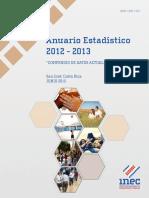 Anuario Estadístico Costa Rica 2014 y 2015