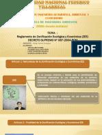 Decreto Supremo Nº 087-2004-Pcm_ Zee_ Grupo 11..