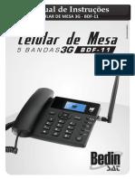 Celular de Mesa 5 Bandas BDF-11 BEDINSAT[1]