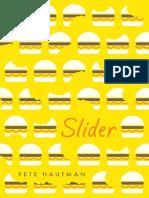 Slider by Pete Hautman Chapter Sampler