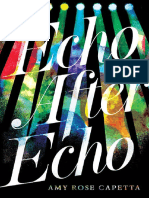 Echo After Echo by Amy Rose Capetta Chapter Sampler