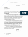 Faust DACA Letter to President Trump