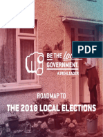 Be The Local Government - Roadmap to the 2018 Local Elections