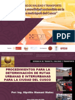 Seminario de Vialidad y Transporte, EXPOSITOR ING. HIPOLITO MAMANI.pptx