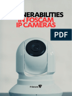 Vulnerabilities in Foscam IP Cameras Report