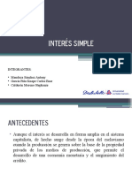 Interes Simple 1