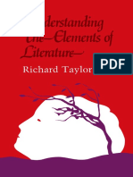 Richard Taylor Auth. Understanding the Elements of Literature Its Forms, Techniques and Cultural Conventions