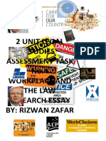 H.S.C Legal Studies Workplace and The Law
