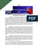 WUNS - Declaracion de Costwold