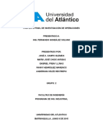 Analisis Plan de Produccion Alan Industries
