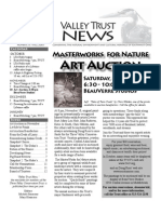 Fall 2007 Valley Trust Newsletter, Three Valley Conservation Trust