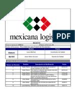 MLCA-P-01 Rev10 Procedimiento Para El Control de Documentos