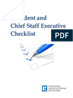 President Chief Staff Checklist Booklet 2017-09-06