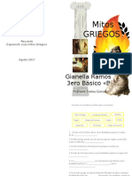 Diptico - Mitos Griegos
