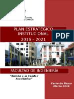Plan Estrategico Fac Ing Al 2021
