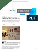 04-09-17 No aceptaremos retrocesos comerciales en TLCAN, advierte Economía _ Excélsior