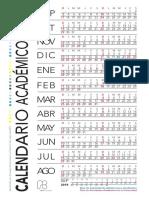 Calendario Pregrado Af
