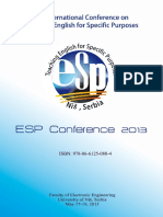 ESP 2013 Conference