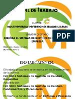 Perfil de Trabajo MVD