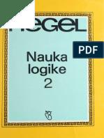 Hegel - Nauka Logike 2