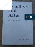 Ayodhya and After Issues Before Hindu Society by Koenraad Elst