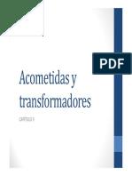 Capitulo 6 Acometidas y Transformadores