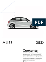 Audi A1 S1 Brochure