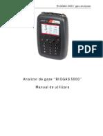 Manual Analizor de Gaze Mobil