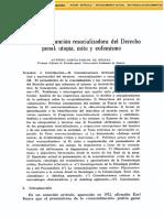 Dialnet LaSupuestaFuncionResocializadoraDelDerechoPenal 2796612 (Recuperado)