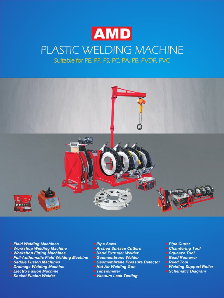 Katalog Welding Machine Lengkap Pipe Fluid Conveyance Extrusion Fusion Diagram