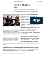 Paris Agreement 13 Point Summary