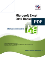 Manual Excel Basic o 2010