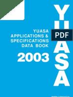 Yuasa Application Data Book