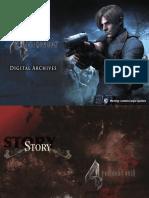 Resident Evil 4 Digital Art Book