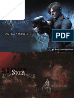 Resident Evil 4 Digital Art Book