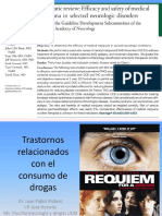 Trastornos Relacionados Con El Consumo de Drogas 2015