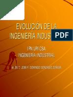 72095371 Evolucion de La Ingenieria Industrial