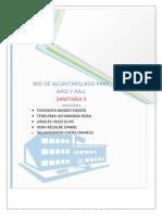 Diseño de Redes Para Agua Sanitaria y Aguas Lluvias