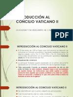 Introducción Al Concilio Vaticano II