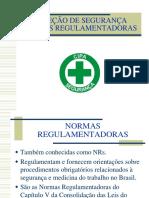 Normas Regulamentadoras Terceiro 2013 11 01